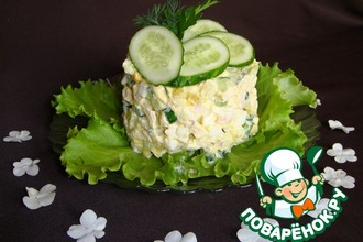 Рецепт: Летний салат Оливье