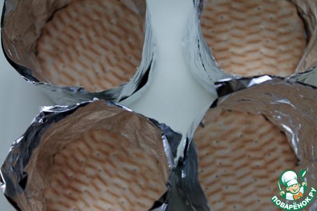 Десерт по мотивам чизкейка