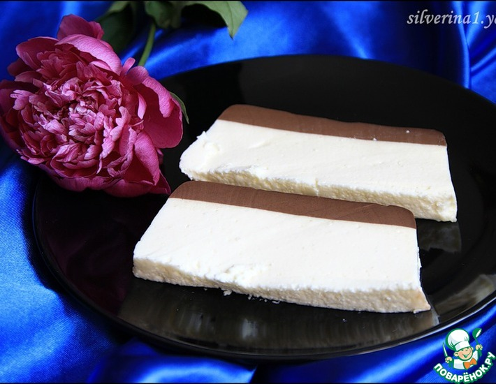Рецепт: Шоколадно-сливочный десерт