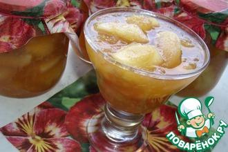Рецепт: Имбирно-яблочное варенье