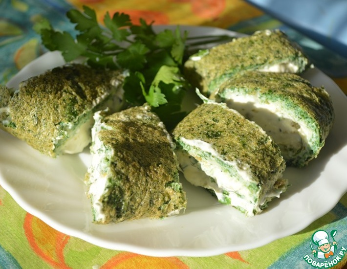 Рецепт: Зеленый завтрак
