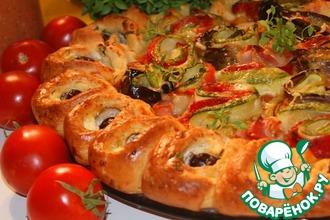 Рецепт: Пирог в средиземноморском стиле