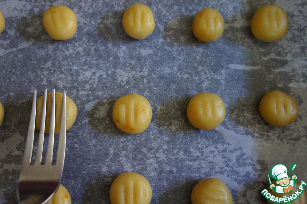 Апельсиновое печенье в медовом сиропе