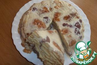 Рецепт: Торт Быстрый без выпекания
