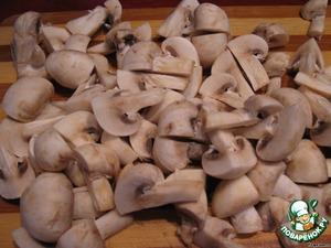 Утка на грибной перине – кулинарный рецепт