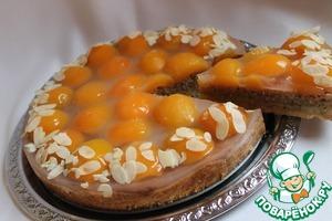 Рецепт Миндально-абрикосовый торт