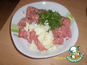 Котлеты с начинкой в фольге – кулинарный рецепт