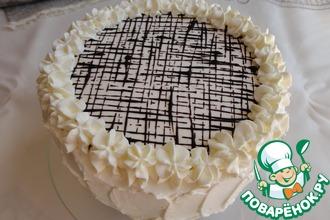 Рецепт: Торт с шоколадным муссом и фруктовым желе
