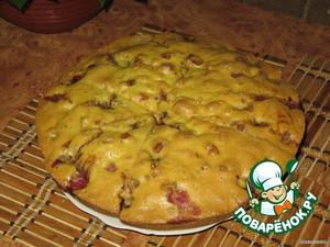 Пирог с клубникой – кулинарный рецепт