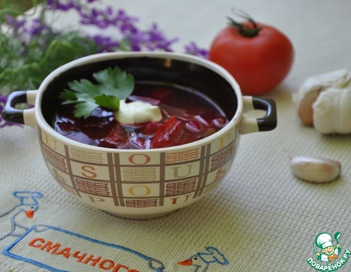Свекольник с имбирем – кулинарный рецепт