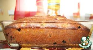 Приятного аппетита    Кекс получился влажным, нежным, вишневым))))
