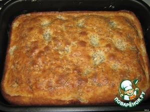 Ставим в духовку и выпекаем при температуре 190 градусов до готовности (зависит от духовки).   Приятного аппетита!