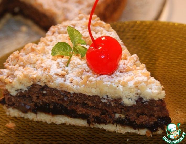 Рецепт: Штрейзельский торт