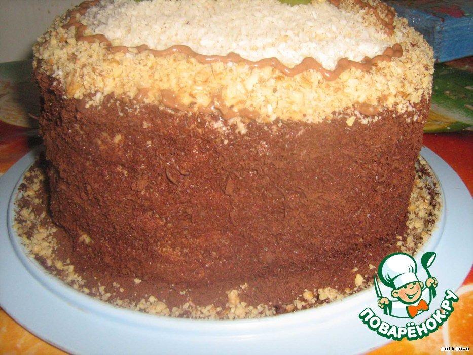 Торт бисквитный Нежный