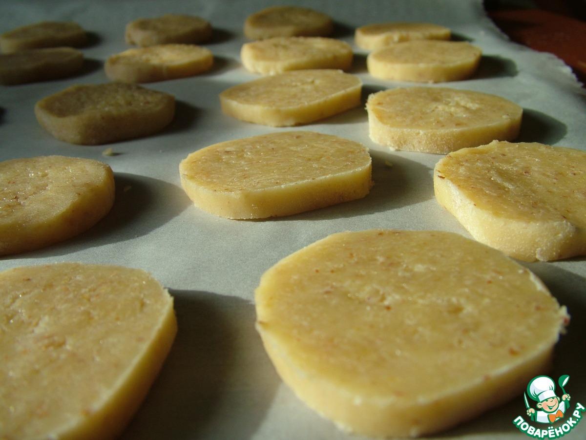 Миндальное печенье с марципаном
