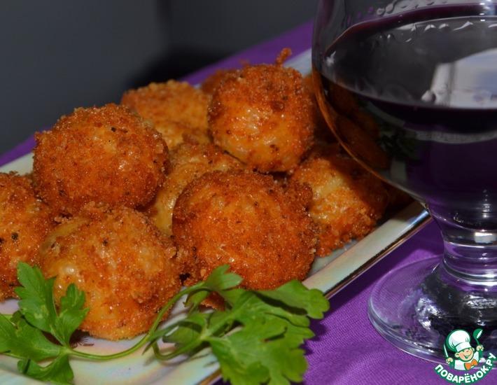 Рецепт: Французская закуска из сыра Делисьез