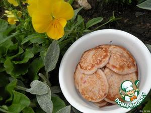 Земляничные оладьи – кулинарный рецепт