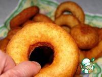 Пончики-колечки с рикоттой ингредиенты