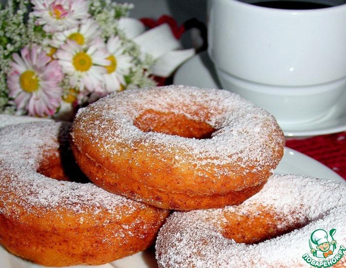Рецепт: Пончики-колечки с рикоттой