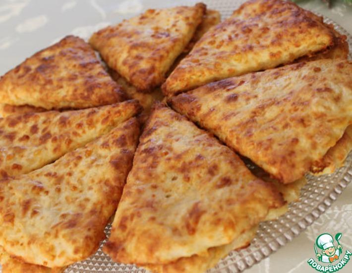 Рецепт: Сырные сконы