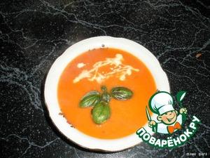 Лёгкий суп-пюре с морковью-гриль – кулинарный рецепт