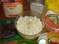 Сырнички ингредиенты