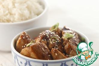 Рецепт: Курица в соусе терияки