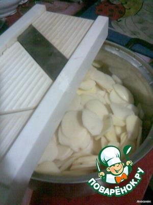 """Картофель """"Дофинэ"""" – кулинарный рецепт"""