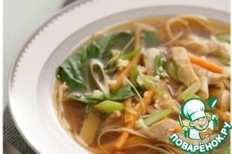 Рецепт: Куриный суп с лапшой