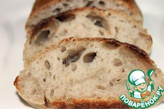 Рецепт: Овернский хлеб на закваске