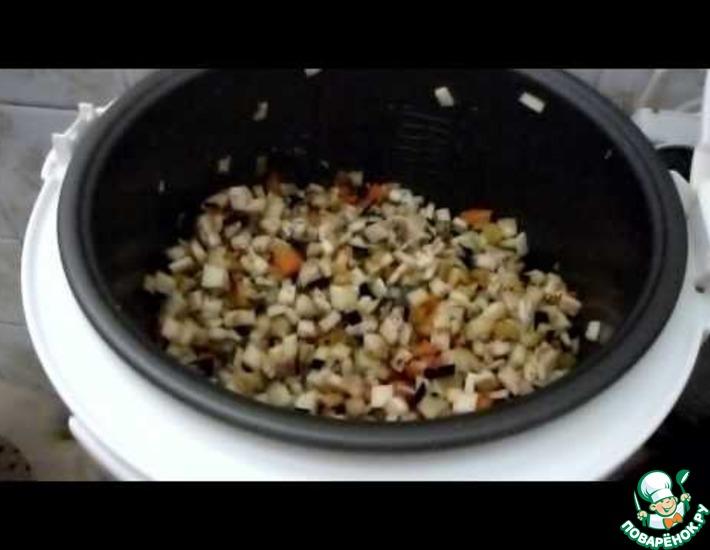Рецепт: Икра баклажановая в мультиварке