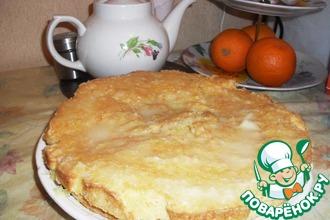 Рецепт: Лимонно-морковный пирог