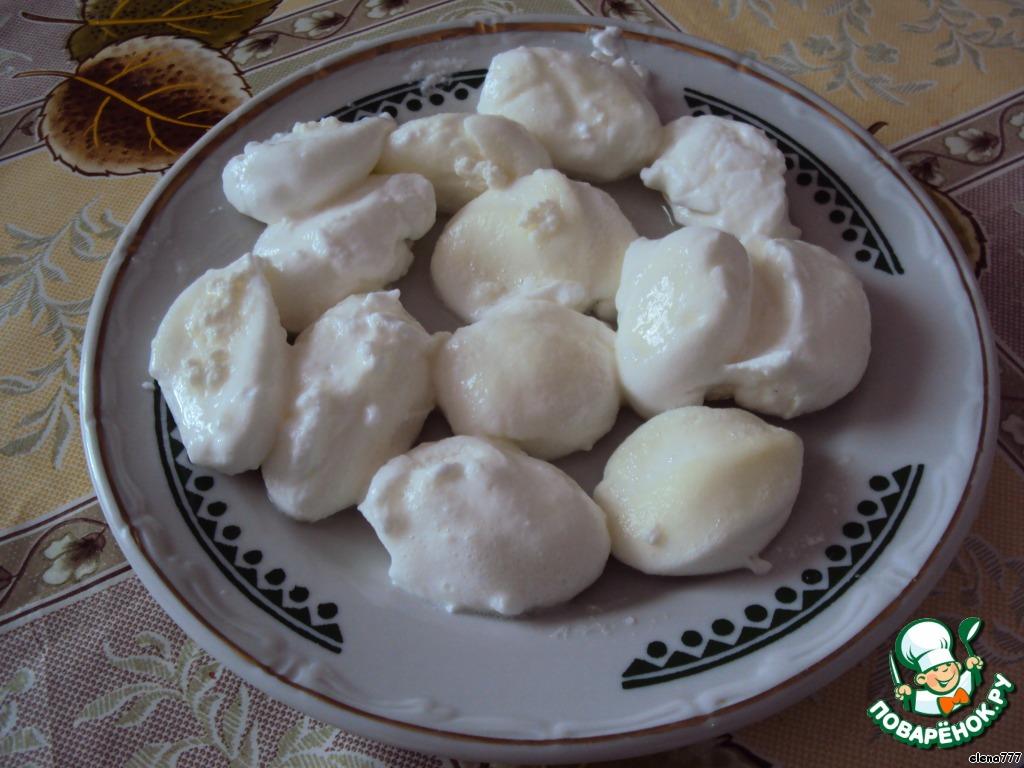 Десерт Ванильное облако