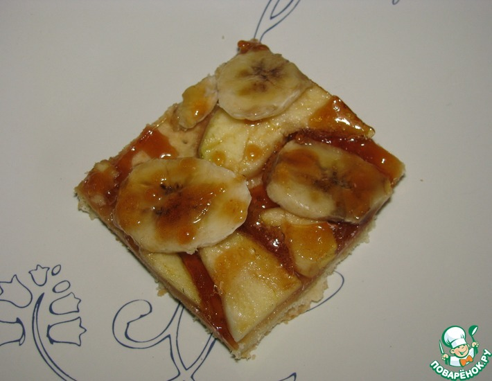 Рецепт: Фруктово-карамельный десерт
