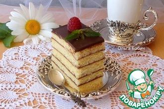 Рецепт: Пирожное Будапешт