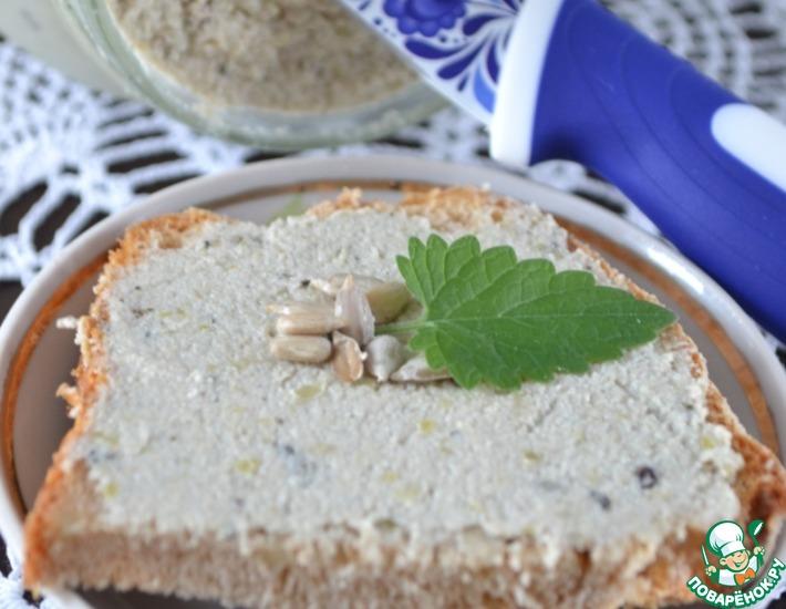 Рецепт: Паштет из семечек и сладкого перца