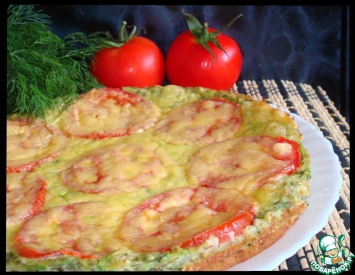 Рецепт: Кабачковая пицца
