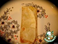Мексиканские бурритос с курицей ингредиенты