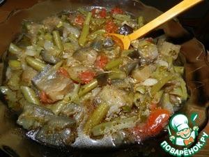 Рецепт Аджапсандали (овощное рагу) в мультиварке