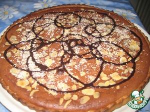 Шоколадный тарт с орехами – кулинарный рецепт