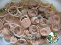 Ребрышки, запеченные на картофеле ингредиенты
