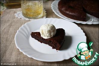 Рецепт: Влажный шоколадный пирог с виски
