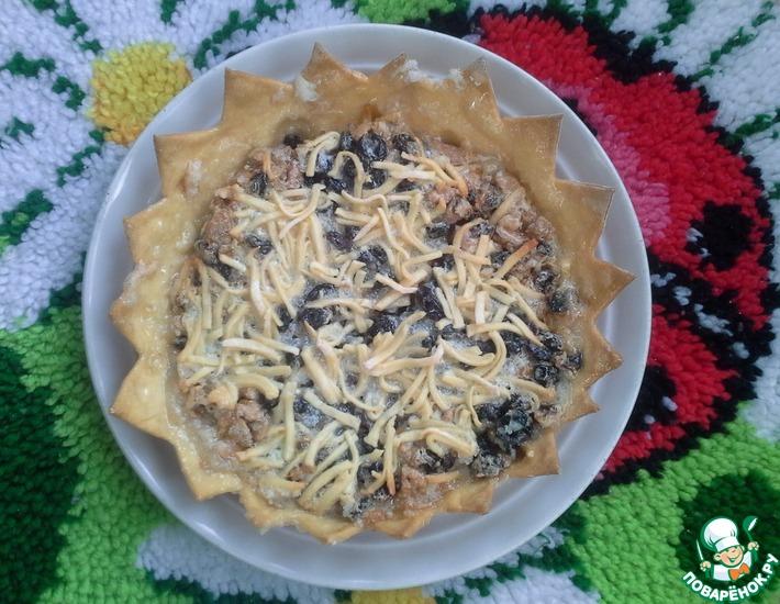 Рецепт: Пирог Подсолнух