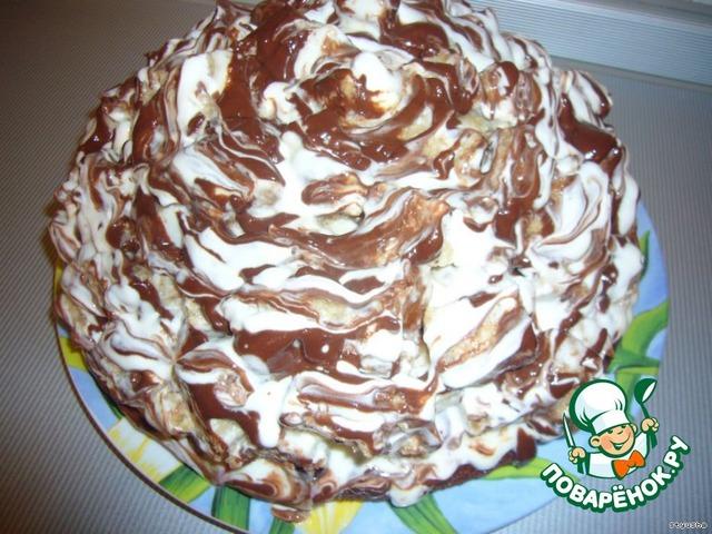 торт кудрявый пень