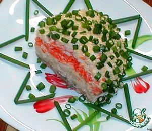Наш салат «Мимоза» готов!