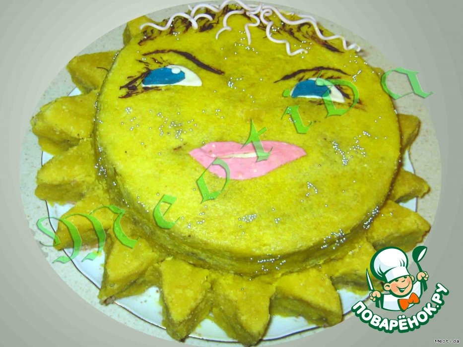 """Торт """"Моe солнышко"""""""
