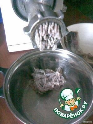 Паста-икра из сельди – кулинарный рецепт