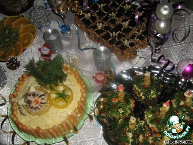 Пирожное Подарок