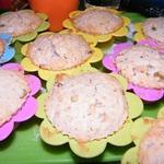Кексы с изюмом и орехами