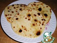 Индийские лепешки Чапати ингредиенты